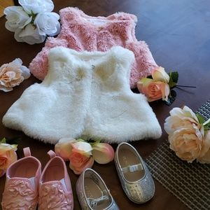 Vests and shoes baby bundle